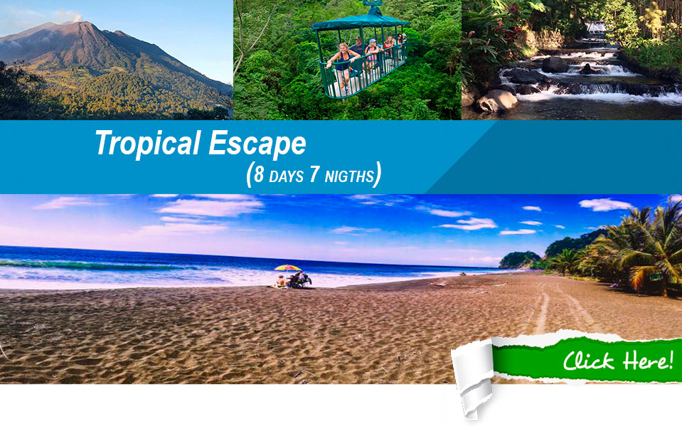 costa rica tropical escape