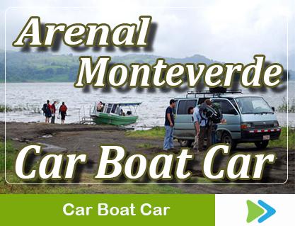 car boat car arenal